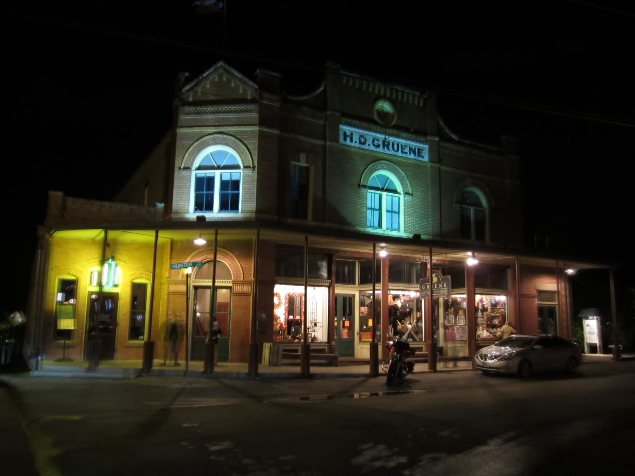 The Second image I took in Gruene, TX.  The building across from Gruene Hall, was taken with my Canon PowerShot ELPH 100HS in Handheld NightScene, once again another beautiful shot.