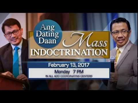 Ang dating daan mass indoctrination calendar