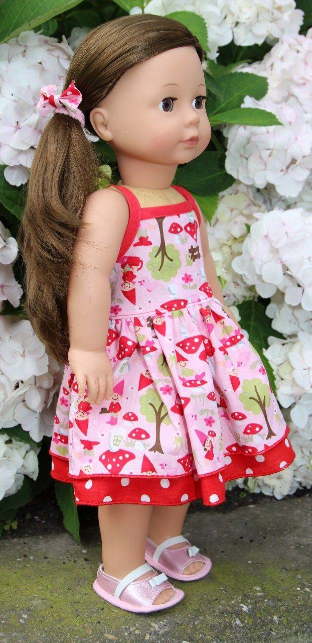 Mama Deborah: poppen jurkje en tuin | Poppenkleren | Pinterest ...
