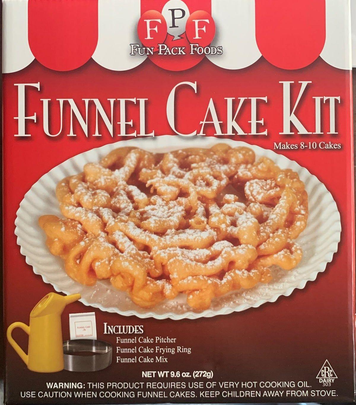 Funnel cake kit funnel cake recipe fair funnel cake