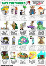 Save the world environmental problems should shouldnt worksheet save the world environmental problems should shouldnt worksheet icon sciox Choice Image
