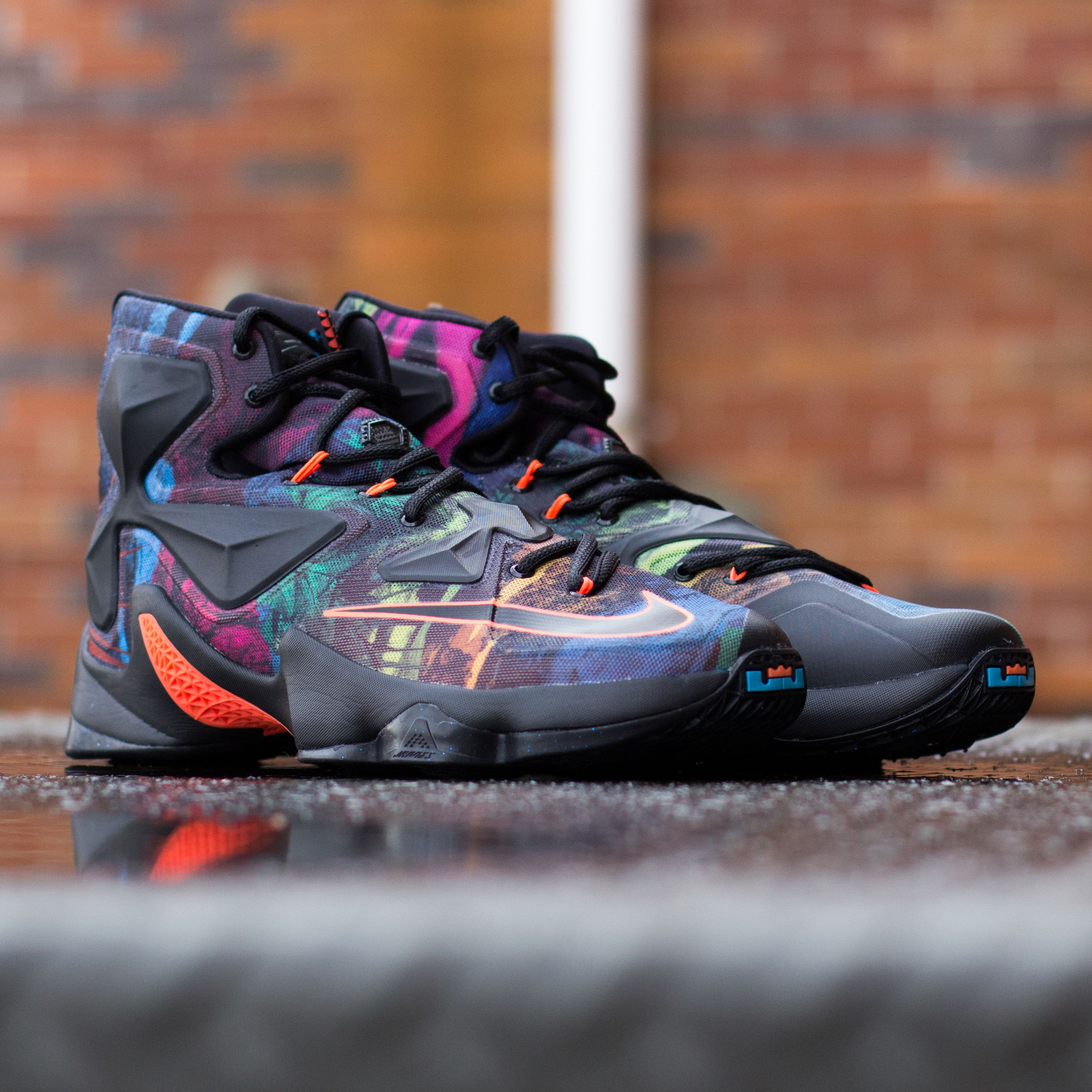Play like a pro in the Nike LeBron 13