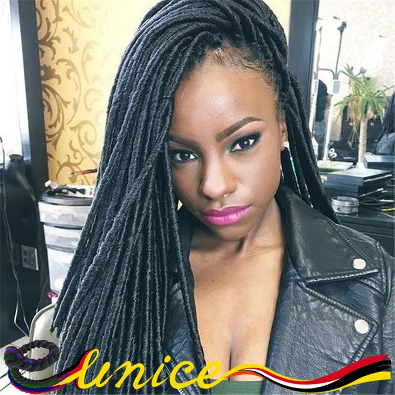 Hair Band Braid Quality Directly From China Extension Human Suppliers High Soft Dreadlocs Faux Locs Havana Mambo