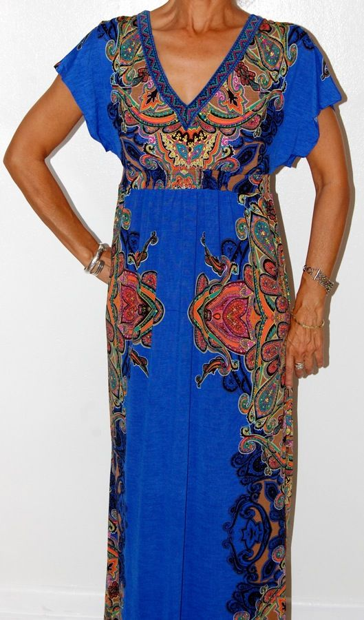 A maxi dress is a must have for this summer!