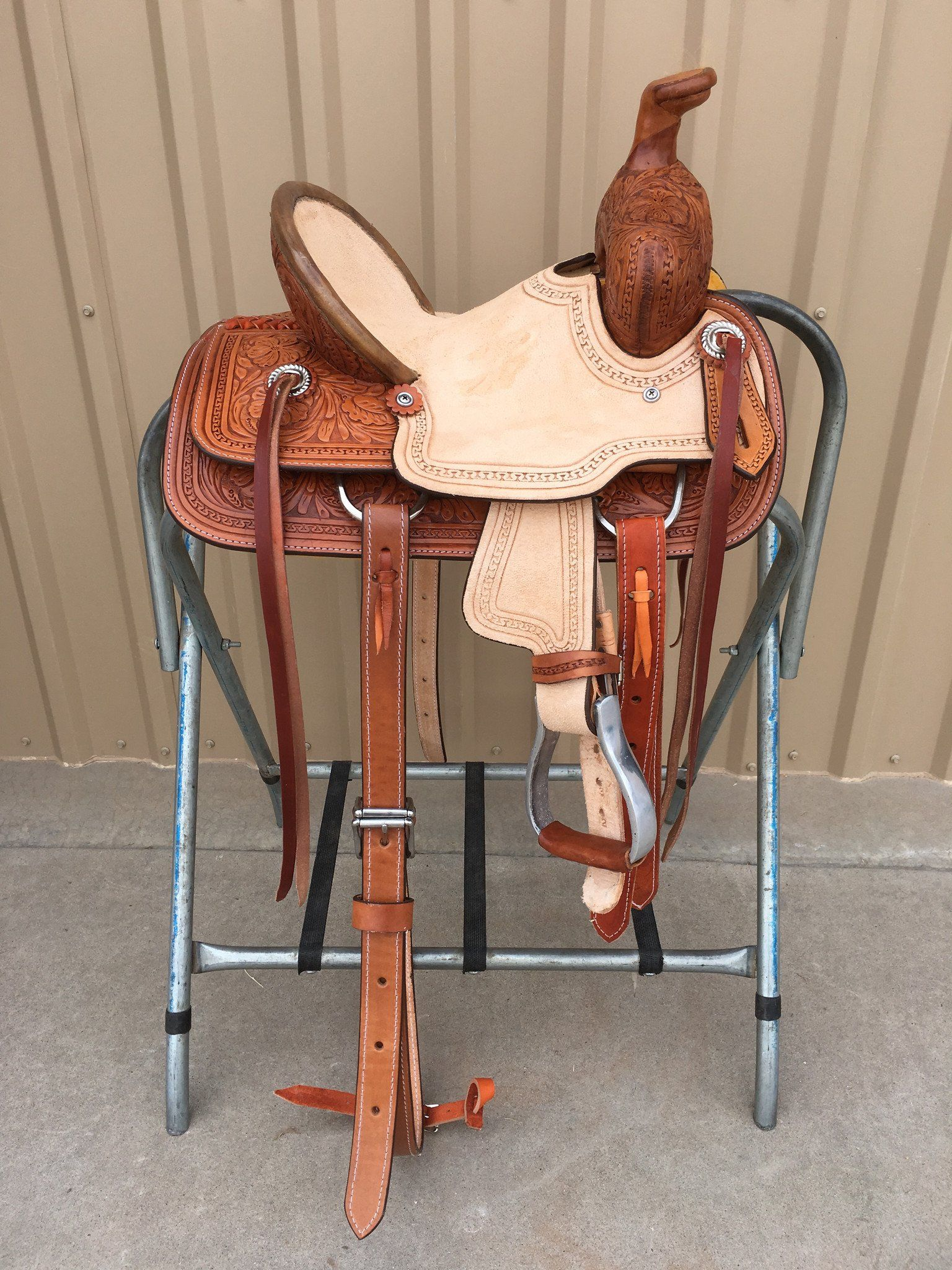 Csy 701b 10 Inch Corriente Youth Kids Buckaroo Association Barrel Racing Saddles Barrel Saddle Saddles