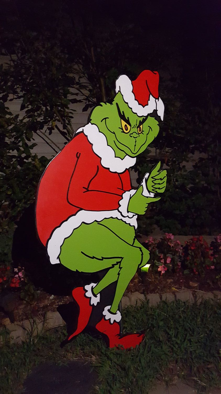 5 Ft The Grinch Stealing Christmas By Hashtagartz On