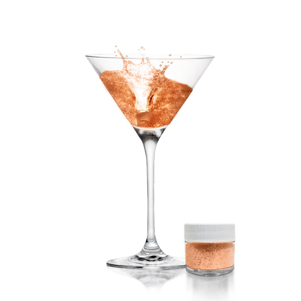 New Our Beautiful New Rose Gold Brew Glitter For Beer Cocktails
