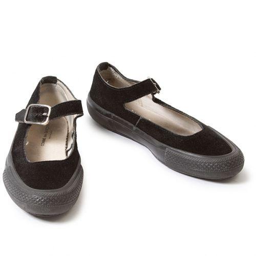 87c11c906b43 COMME des GARCONS Strap suede leather ballet shoes Size 5.5(K-35102 ...