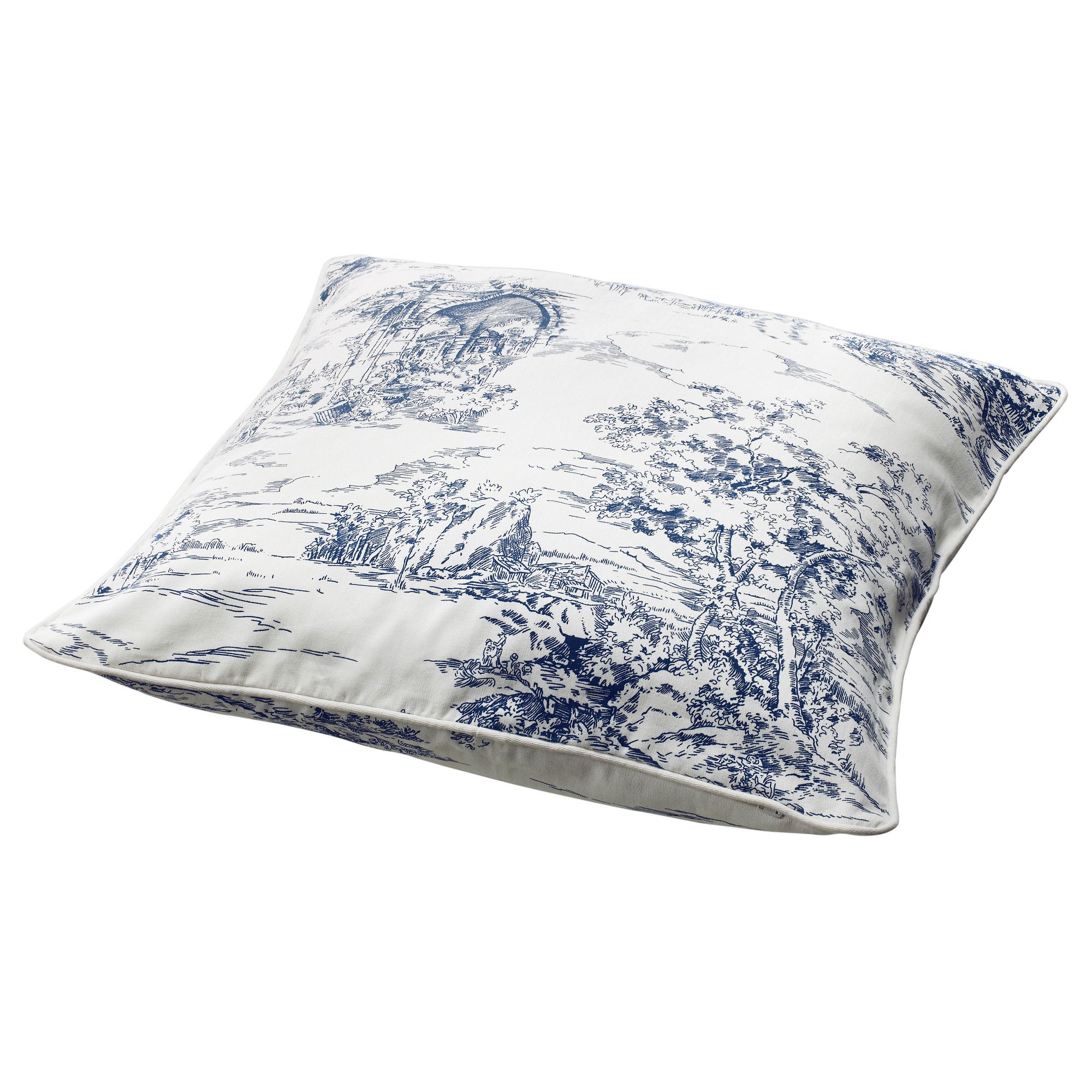 Ikea Federe Cuscini Divano emmie land cushion cover in french toile from ikea ($5