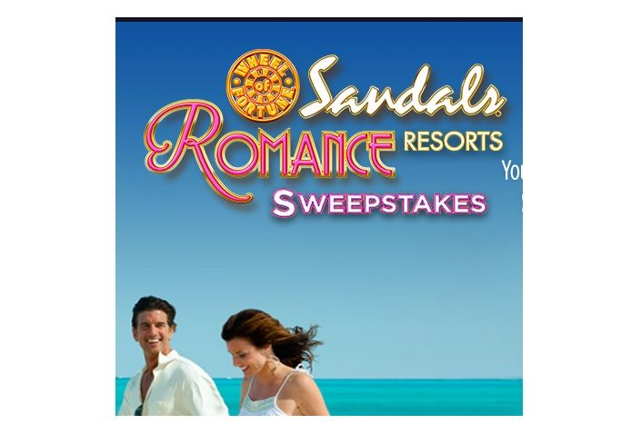 Wheel of fortune sandals beaches sweepstakes