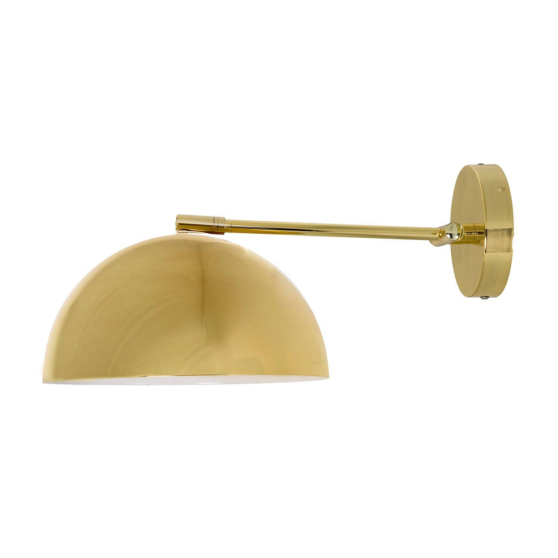 Wall lamp goldblack bloomingville bloomingville royaldesign