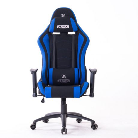 Incredible Xfx Gts300 Fabric Gaming Chair Blue Blue Products In 2019 Squirreltailoven Fun Painted Chair Ideas Images Squirreltailovenorg