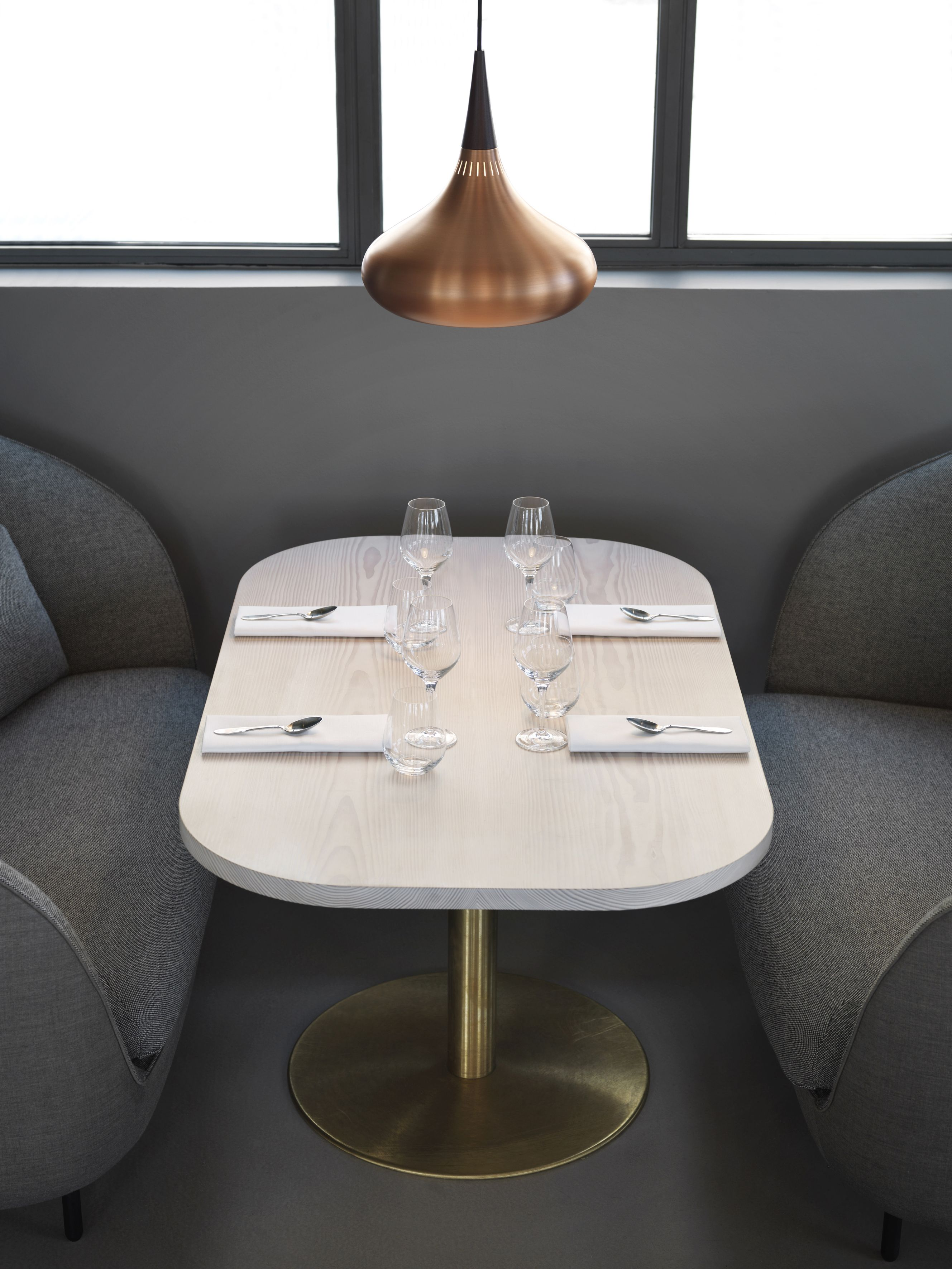 The New Verandah Restaurant In Copenhagen With Dinesen Douglas Tables