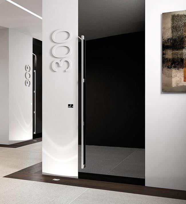 Corridor Design, Door Signage, Hotel Signage