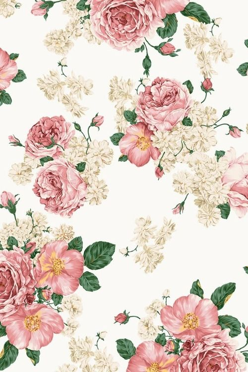 Pastel Floral Background Tumblr Pretty Flower Pattern Flower Floral Wallpaper Iphone Floral Iphone Background Flower Iphone Wallpaper