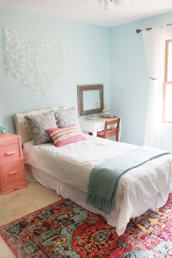Sea Gypsy is a Boho Mermaid Bedroom. This bedroom theme combines Bohemian and Mermaid to bring you a fun exotic bedroom design!