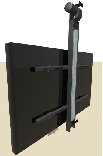 Utvl 200 Series Drop Down Tv Lift Tv Ceiling Mount Home Automation Home Automation Kits