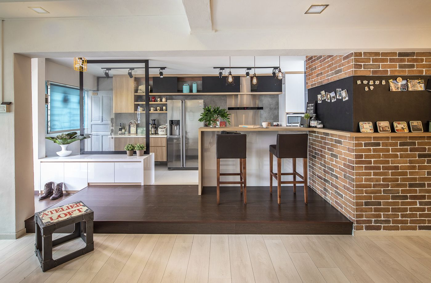 Maisonette At Tampines Home Interior Design Kitchen Home Kitchens