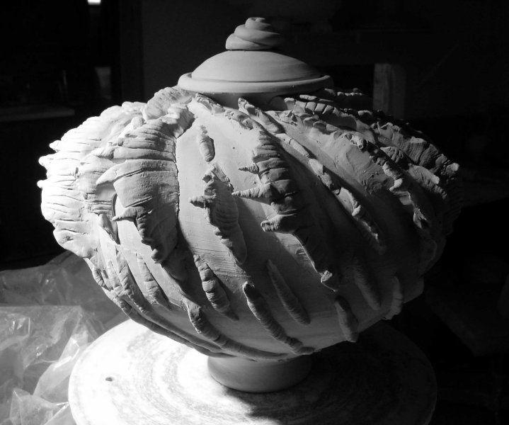Glen Macinnis Clay Work In Progress Ceramics Pottery
