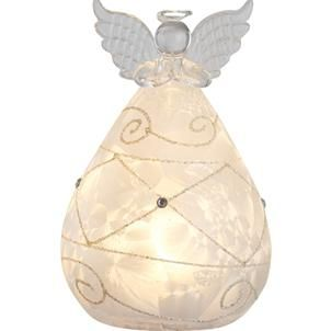 Glowing Led Gl Angel Lights Up Rooms And Symbolizes Divine Protection Beautifully Designed Wings