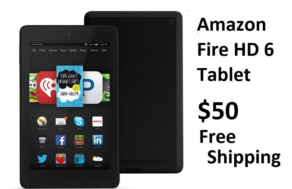 Amazon has the Certified Refurbished Amazon Fire HD 6 8GB