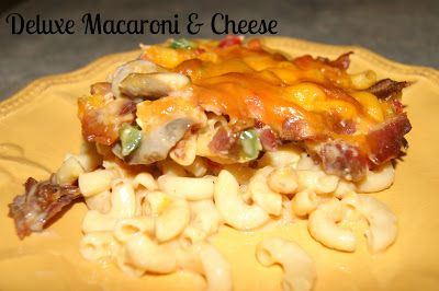 Deluxe Macaroni & Cheese- the best mac & cheese ever!