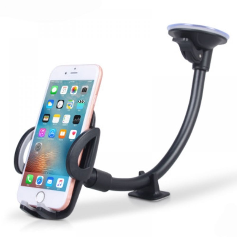 Smartphone Wallpaper Car: Luxury Long Arm Universal Mobile Cell Phone Car Holder