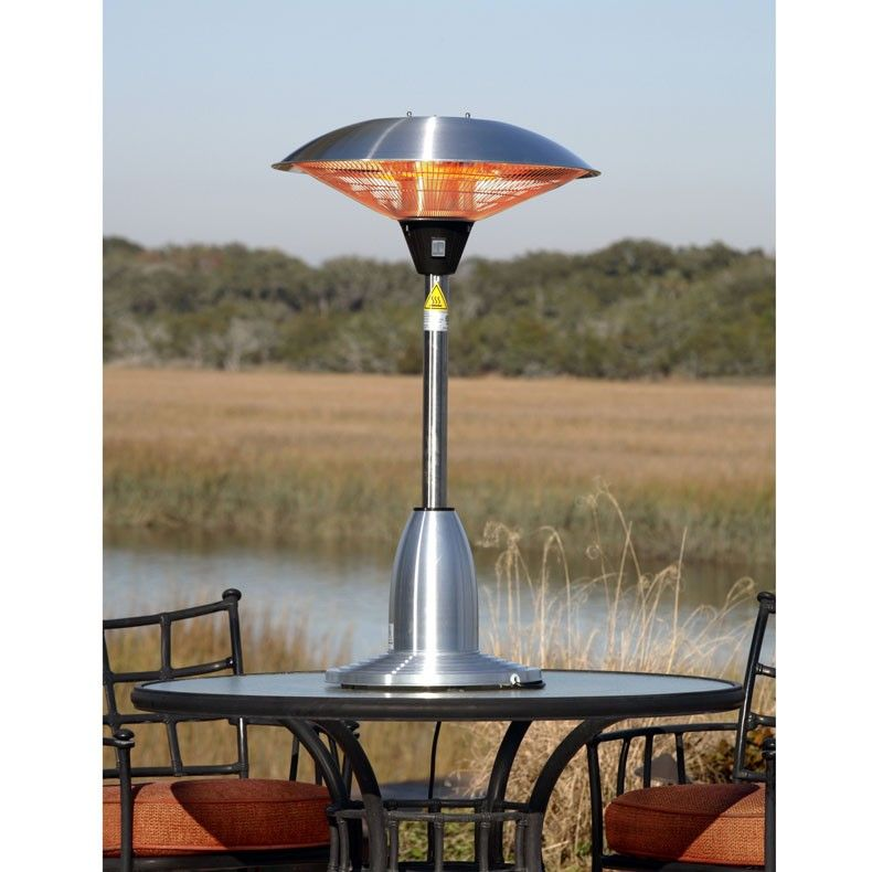 Stainless Steel Table Top Round Halogen Patio Heater Tabletop Patio Heater Stainless Steel Table Top Gas Patio Heater