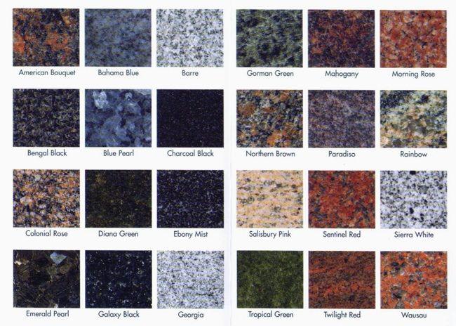 Buyer S Guide Granite Countertops Granite Countertops Colors