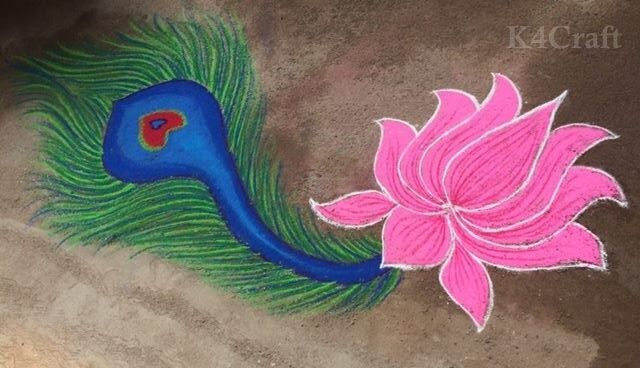 100 Beautiful Rangoli Designs And Patterns For 2018 K4 Craft