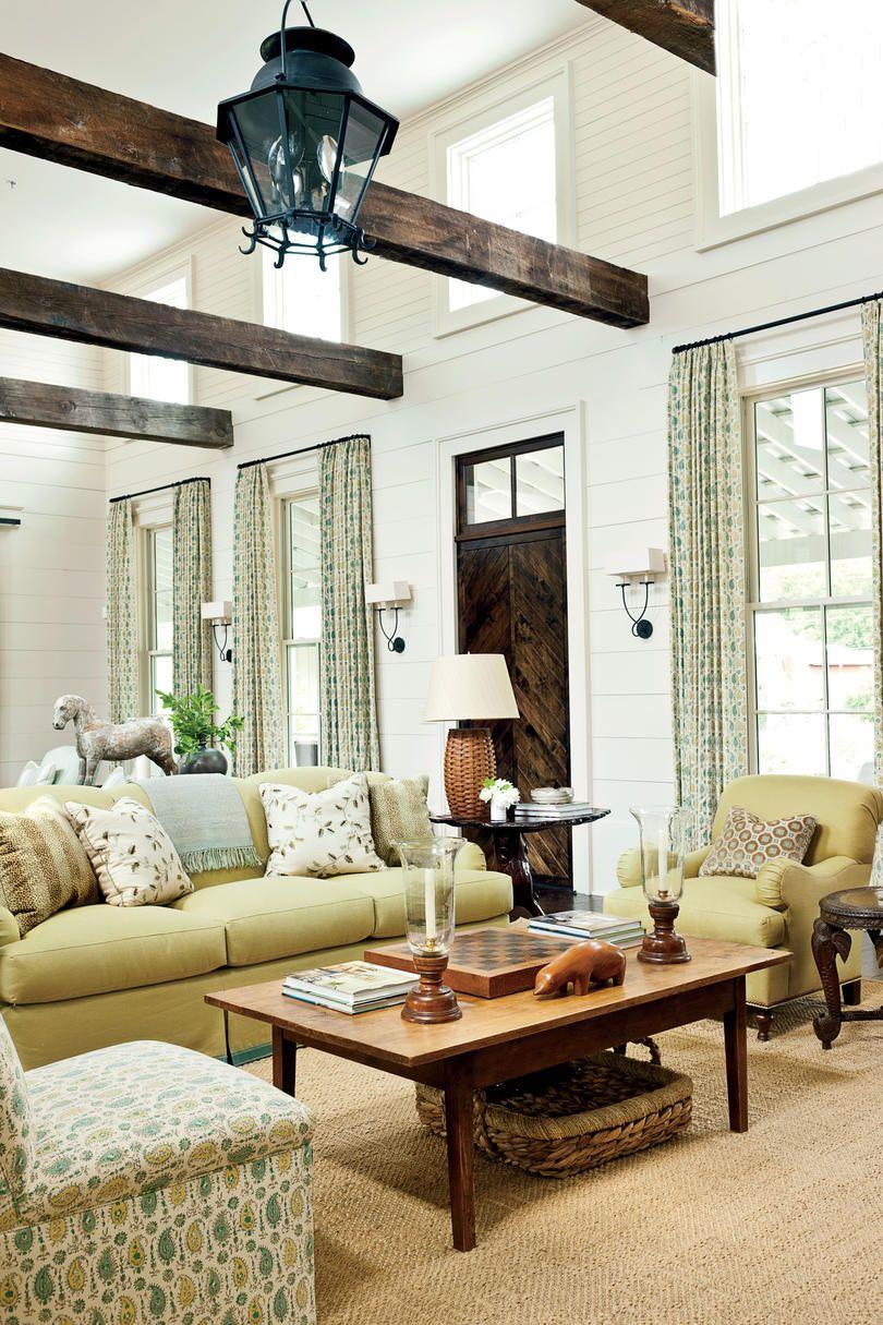 Nashville Idea House Tour Southern Living House Plans Southern Living Homes Farmhouse Decor Living Room