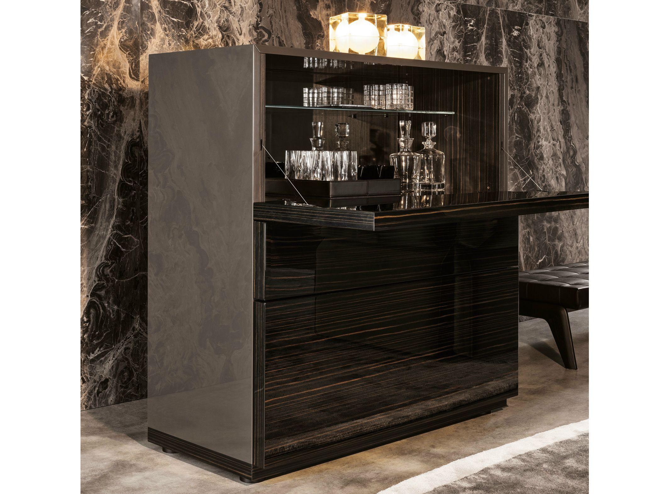 LANG Bar cabinet by Minotti design Rodolfo Dordoni   home bar ...