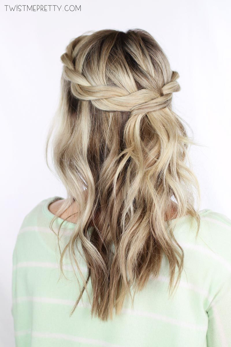 Twisted Crown Braid Tutorial With Images Hair Styles Crown