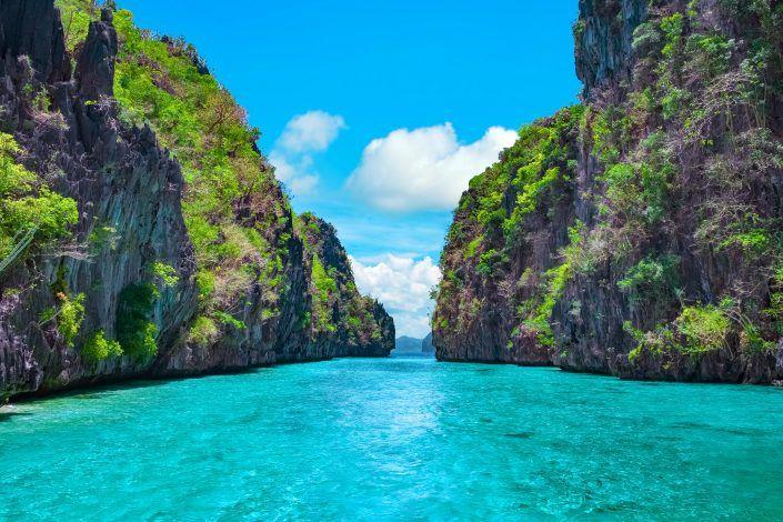 Route voor 1 maand de hotspots in de Filipijnen