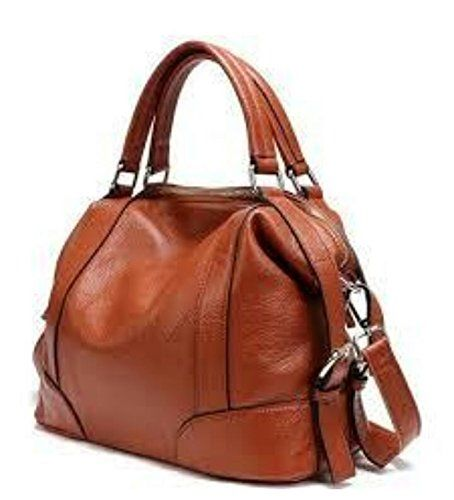 Ss Leather Pure Handbag Brown Online At Low Prices In India On