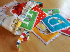 ABC Adventure Block Tutorial. Featuring Dr.Suess FQ Bundle by Robert Kaufman. Easy project for beginners!