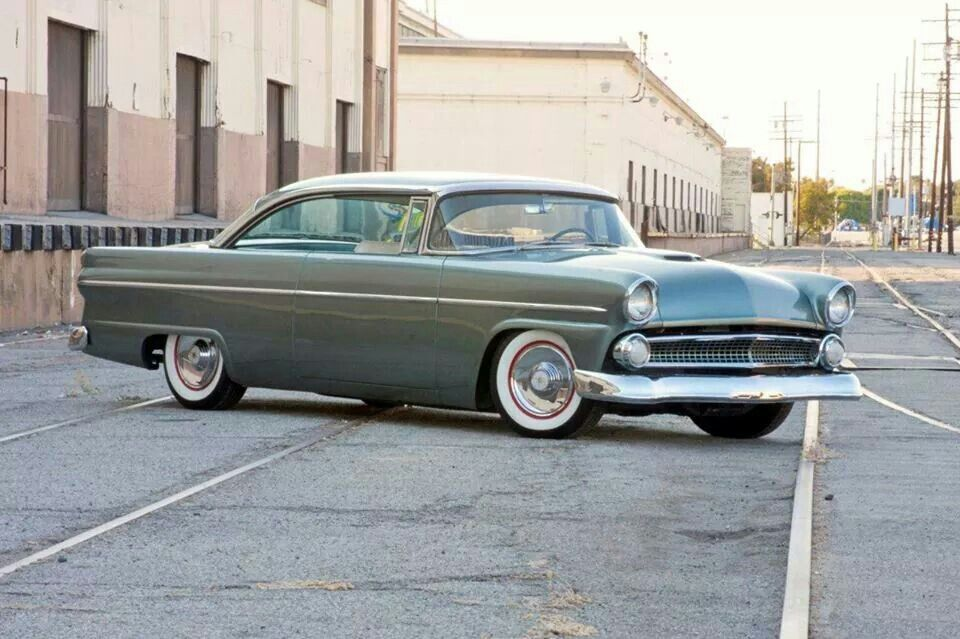 Cool Ford Victoria Custom Old School 1955 1956 Ford