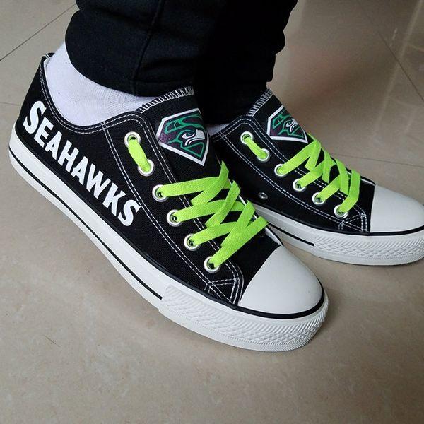 Seattle Seahawks Converse Shoes  044e2015a