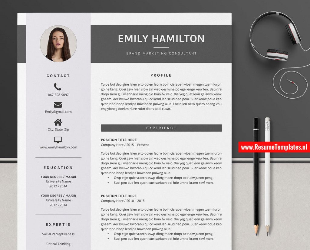 2 Page Resume Templates 2021 Free Resume Template Word Free Resume Template Download Resume Template Free