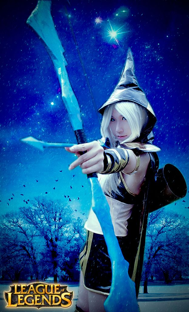 Ashe from League of Legends #LoL #cosplay