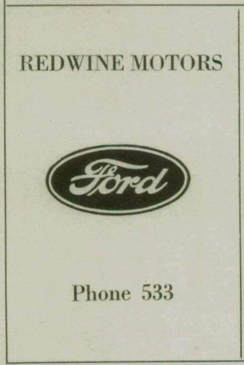Mtn View Ford >> Mtn View Ford Dealer Nostalgia Photos Company Logo
