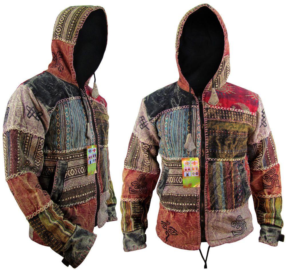 Winter Hippie Clothes Men