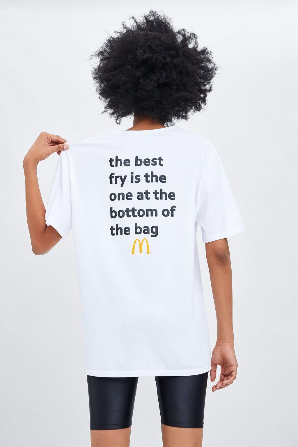 47c51dbbc7 2018 McDONALD'S UNISEX T-SHIRT in 2019 | Mcdonalds | T shirts for ...