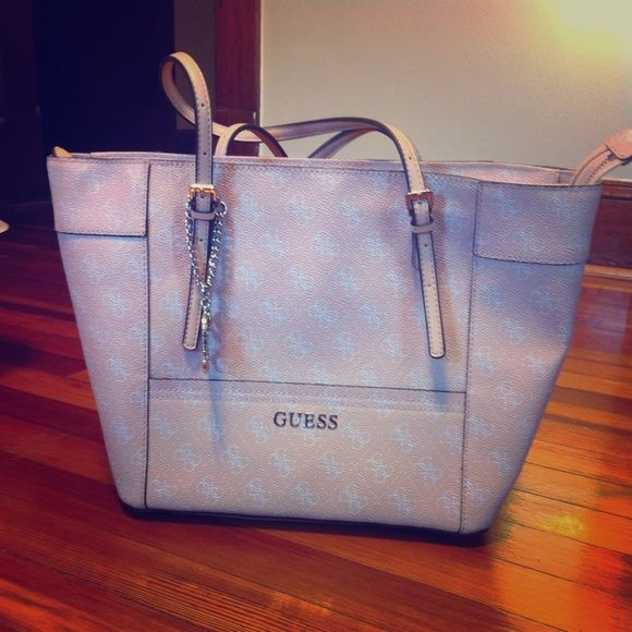 Light Pink Guess Tote Bag I Ve Had This For A Years