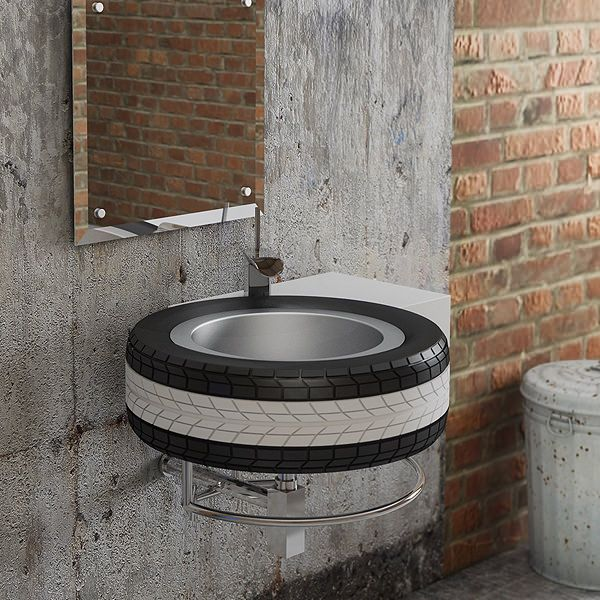 Recycled Tyre Wash Basin