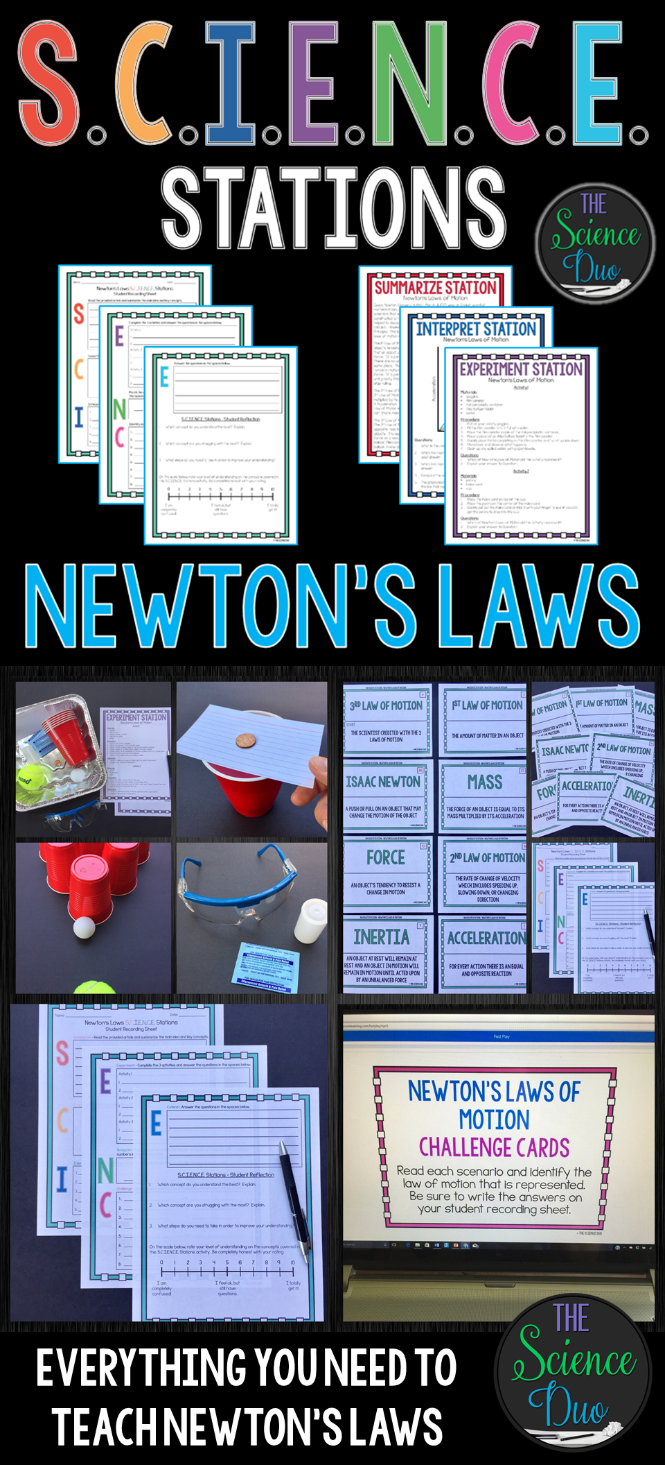 Newton' Laws Of Motion - . Stations ""