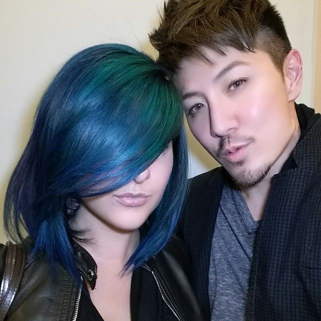 Kenra Color Blue, Violet, and Teal by #guytang