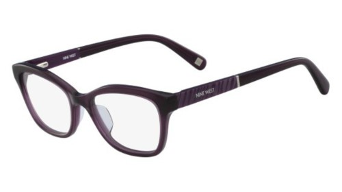 9c076af851fb Eyeglasses Nine West NW 5129 515 Crystal Purple