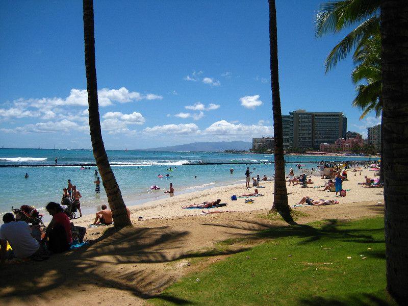 Kuhio Beach Park Waikiki Hawai I