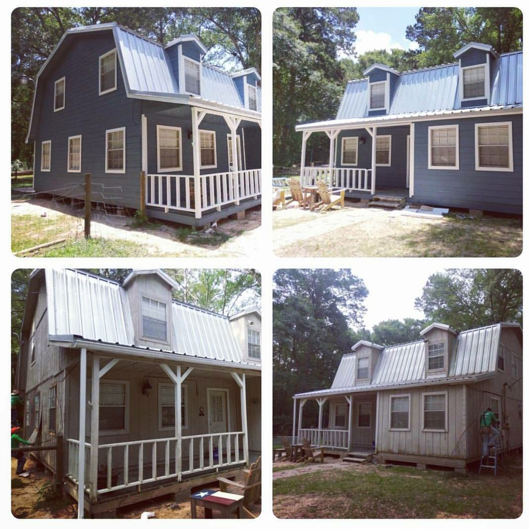 Before And After Lp Smartside Siding Job With A Very Happy Customer In Huffman Texas This Customer Chose To House Exterior Siding Options Vinyl Siding Options